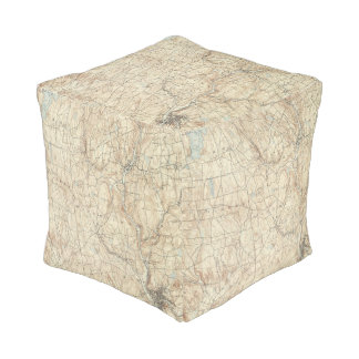 17 Waterbury sheet Cube Pouf