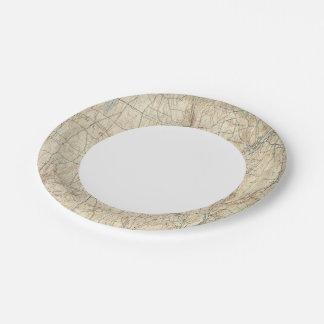 17 Waterbury sheet Paper Plate