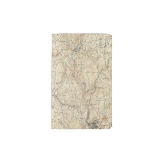 17 Waterbury sheet Pocket Moleskine Notebook