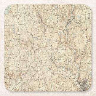 17 Waterbury sheet Square Paper Coaster