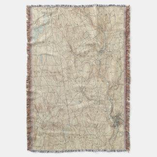 17 Waterbury sheet Throw Blanket