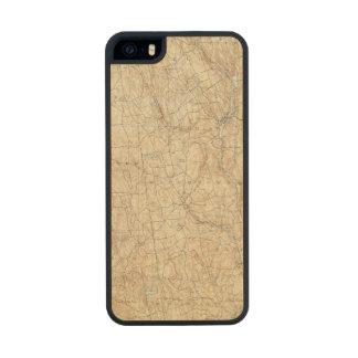 17 Waterbury sheet Wood Phone Case For iPhone SE/5/5s