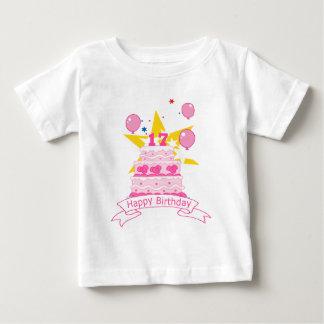 17 Year Old Birthday Cake Baby T-Shirt