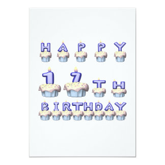 17 Years Old Card