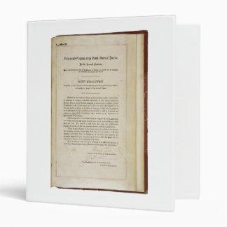 17ma constitución de los E.E.U.U. de la enmienda d