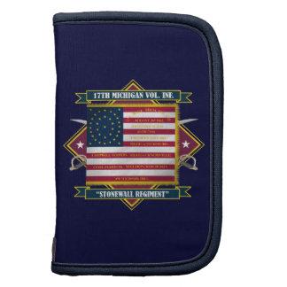 17mo Camisetas voluntario de la infantería de Mich Organizadores