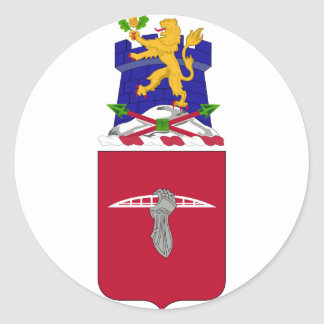 17mo COA de los BN del INGENIERO Pegatina Redonda