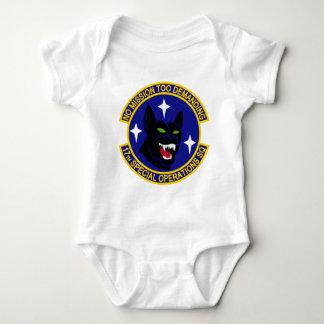 17mo Escuadrilla de las operaciones especiales Body Para Bebé