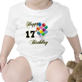 17mo Globos del cumpleaños Trajes De Bebé