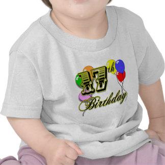 17mo Globos del cumpleaños Camiseta