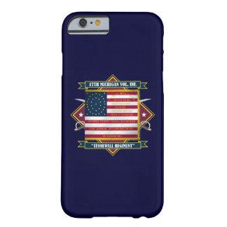 17mo Iphone voluntario 6 de la infantería de Funda Para iPhone 6 Barely There