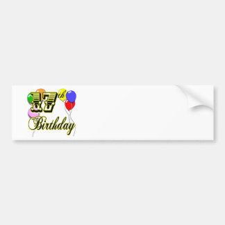 17th Birthday Bumper Sticker