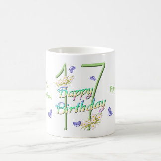 17th Birthday Butterfly Dance Mug