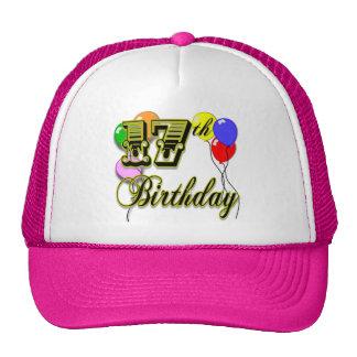 17th Birthday Merchandise Mesh Hat