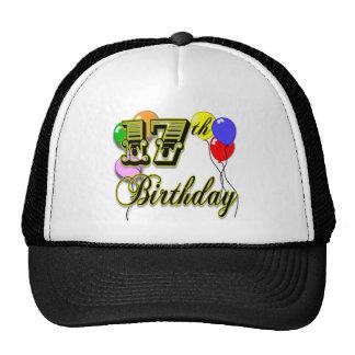 17th Birthday Merchandise Hat