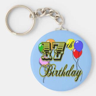 17th Birthday Merchandise Keychain