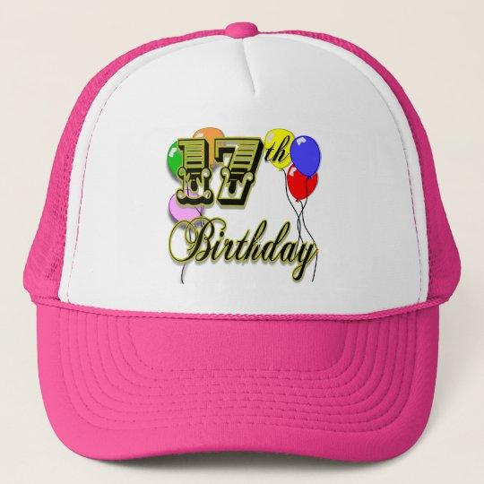 17th Birthday Merchandise Trucker Hat