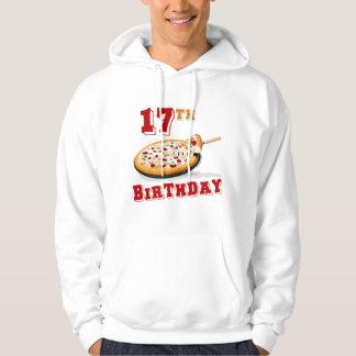 17th Birthday Pizza party Sweatshirt