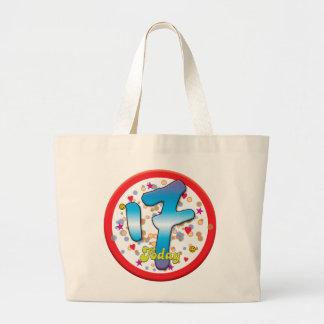17th Birthday Today Jumbo Tote Bag