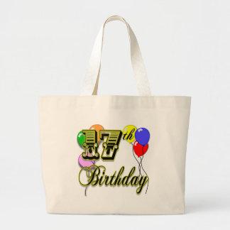 17th Birthday Tote Bag