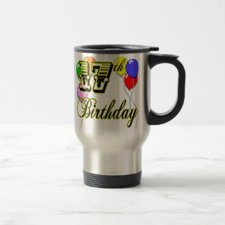 17th Birthday Travel Mug