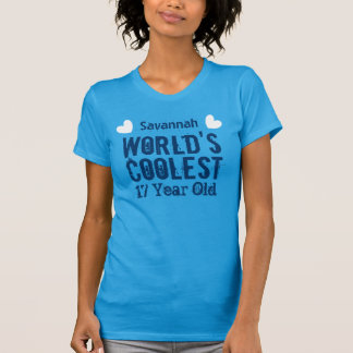17th Birthday World's Coolest 17 Year Old L17C T-shirts