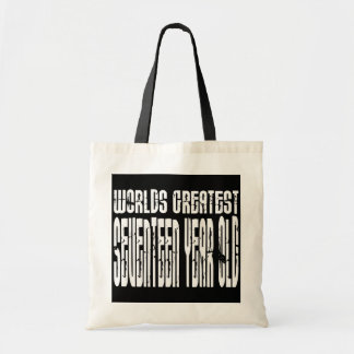 17th Birthdays Worlds Greatest Seventeen Year Old Tote Bag