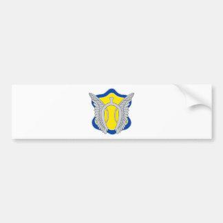 17th Cavalry Regiment Color patch Car Bumper Sticker