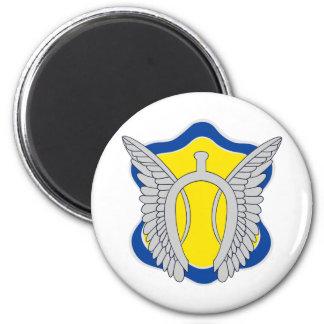 17th Cavalry Regiment Color patch Magnet
