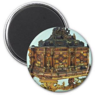 17th century amber casket, Malbork, Poland Refrigerator Magnets