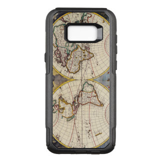 17th Century Antique Map of the World OtterBox Commuter Samsung Galaxy S8+ Case