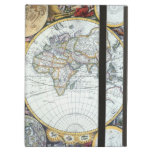 17th Century Antique World Map by John Seller Cover For iPad Air