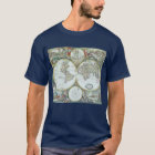 17th Century Antique World Map, Frederick De Wit T-Shirt