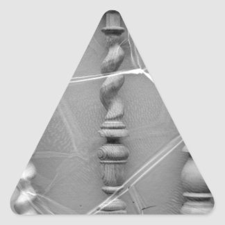 17th-century baluster triangle sticker