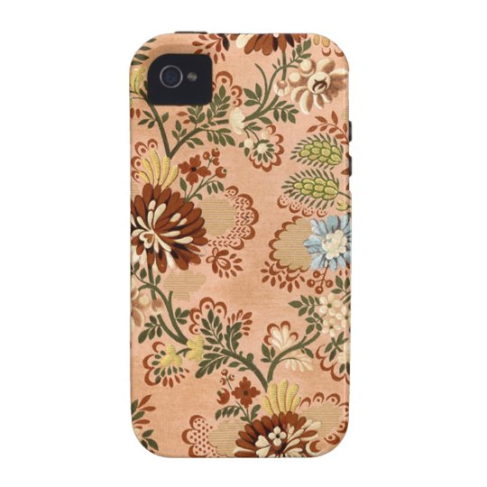 17th Century Damask Textile Case-Mate iPhone 4 Cover