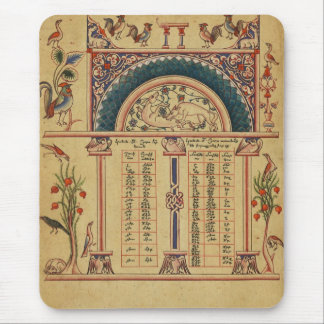 17th Century Illuminated Manuscript Mouse Pad