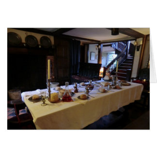 17th Century Kitchen at Old Moseley Hall Card