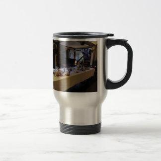 17th Century Kitchen at Old Moseley Hall Travel Mug