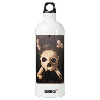 17th Century Skull and Crossbones Water Bottle
