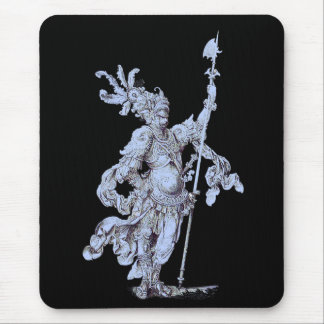 17th century soldier mouse pad