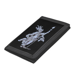 17th century soldier trifold wallet