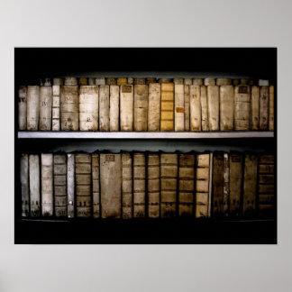 17th Century Vellum Book Bindings Poster
