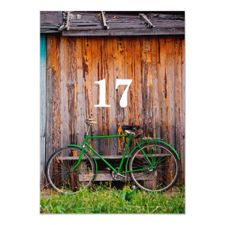 17th Cyclist Birthday Celebration Invitation