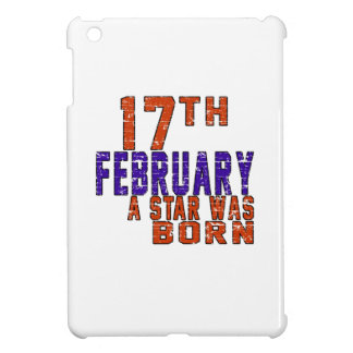 17th February a star was born iPad Mini Case
