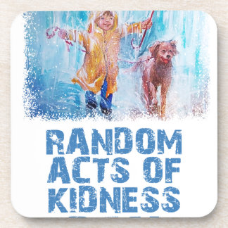17th February - Random Acts Of Kindness Day Beverage Coaster