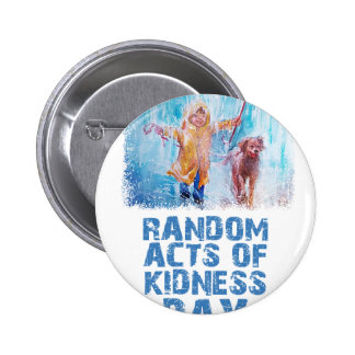 17th February - Random Acts Of Kindness Day Button