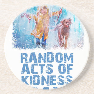 17th February - Random Acts Of Kindness Day Sandstone Coaster