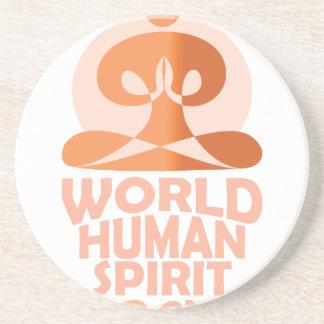 17th February - World Human Spirit Day Coaster