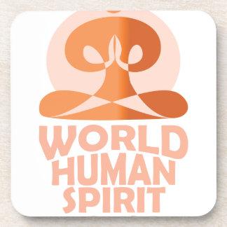 17th February - World Human Spirit Day Drink Coaster