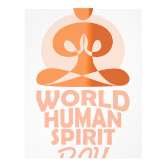 17th February - World Human Spirit Day Letterhead